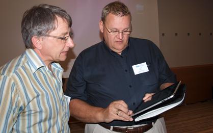 Keith Harris mit iPad