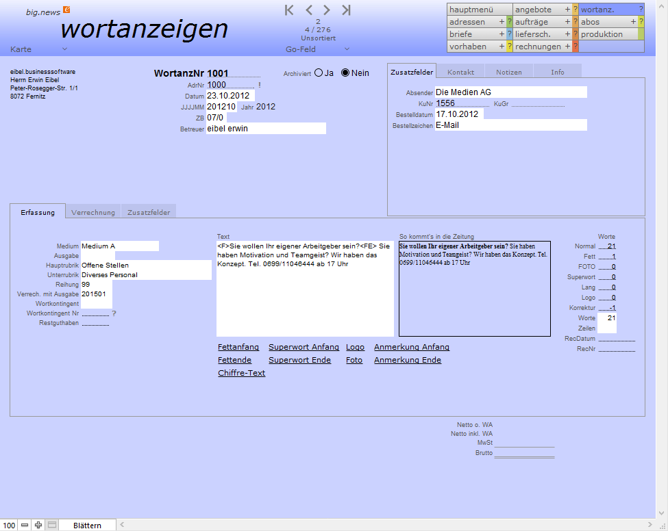 Screenshot big.news wortanzeigen